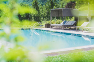 Sinnergut Holiday apartments with swimming pool in Nals, Südtirol